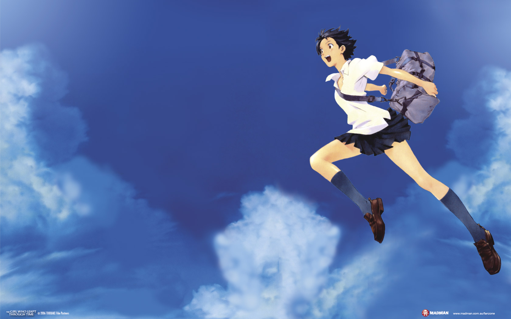 The girl who leapt through time hosoda 2006