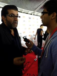 Interviewing Producer Alain Attal at the Red Carpet
