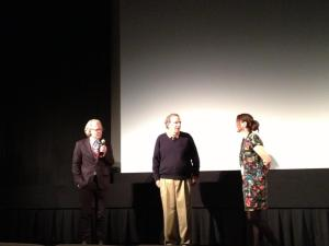 Nathaniel Dorsky and Peter Hutton Q&A