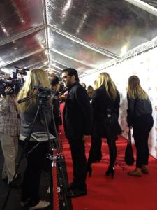 Red Carpet for Blood Ties